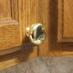 gold kitchen cabinet knob
