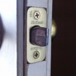 Latch for entry door