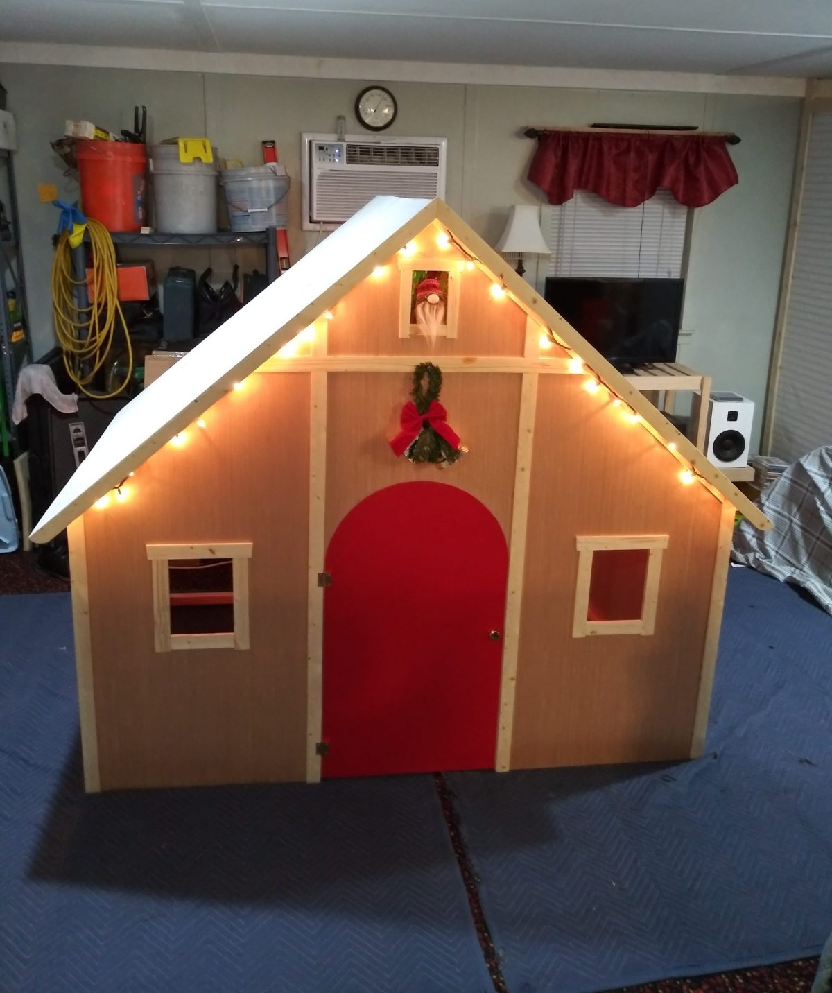 Christmas 2020 playhouse for kids